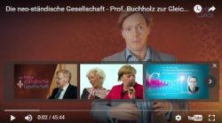Die neo-ständische Gesellschaft (Video)